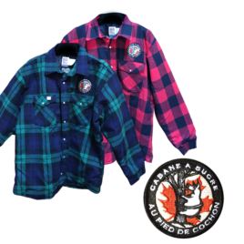 100% Cotton SUGAR SHACK JACKET Made in Canada
